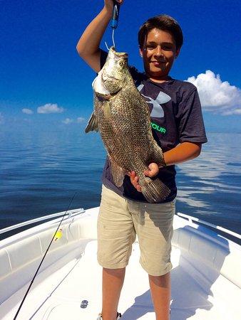 Salty Charters Florida: Tripletail Apalachicola, St. George Island, SaltyChartersFlorida.com