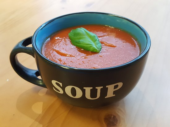 Little Pantry: not too hot for soup, tomato and roast red pepper. one of our most popular all year round.