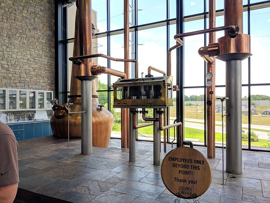 Lexington Brewing & Distilling Co.: low wine and high wine