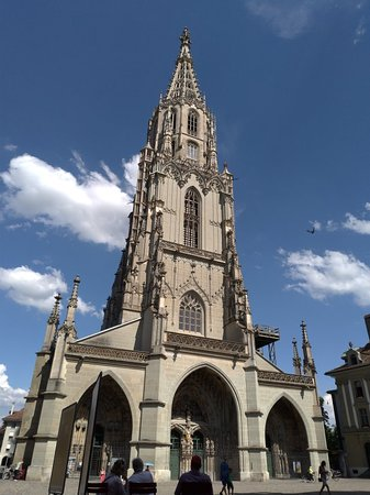 Cathedral at Munsterplatz / St. Vincent (Munster Kirche) Foto