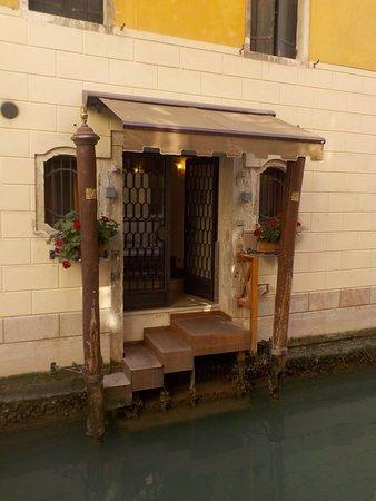 Hotel Ala: The back door of the hotel