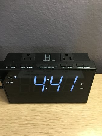 Alma, MI: New clocks with even more outlets for your devices.