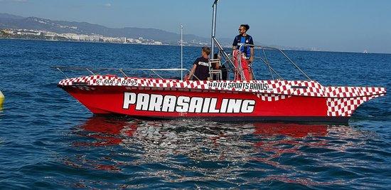 Water Sports Banus: Parasailing para volar alto