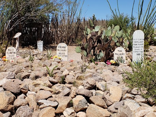 Boothilll Graveyard: The cowboys killed at OK Corral.