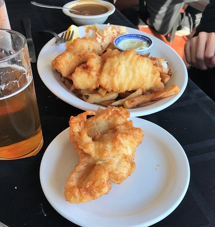 Eastport, Kanada: Extra piece fish and chips