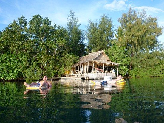 Gizo, Kepulauan Solomon: Relaxing day at Oravae