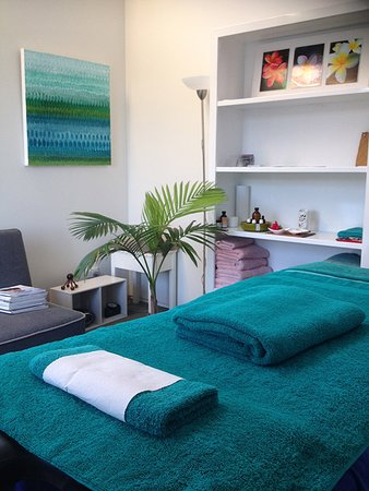 Raglan, Nova Zelândia: Amazing space for a massage at Michelle's clinic