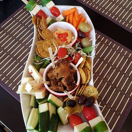 Shediac, Καναδάς: Ancient Roots Sharing Veggie Platter
