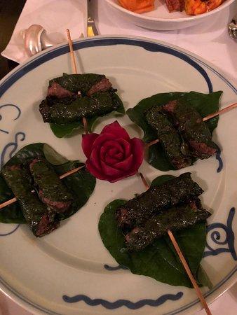 Club Opera Novel: Ground beef in leaf