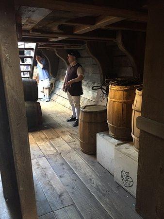 波士顿茶党船舰及博物馆照片
