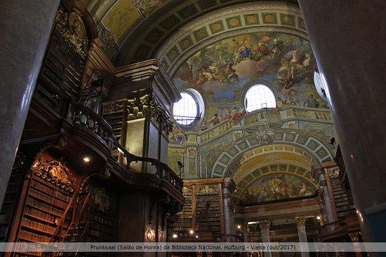 奥地利国家图书馆照片