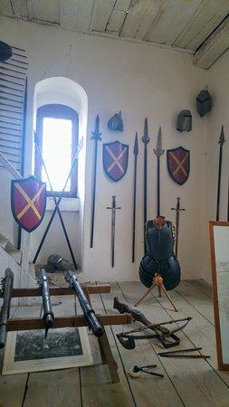 Harburg, Germany: weapons room