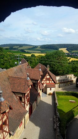 Harburg, Germany: View from inside!