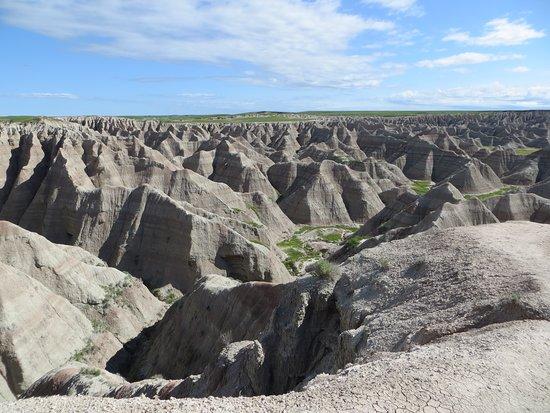 Big Badlands Overlook照片