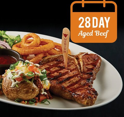 Campbellfield, Australien: 28 Day aged beef fire grilled the way you like it.