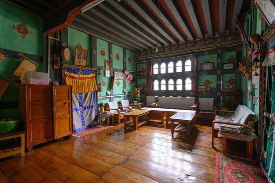Haa District, Bhutan: Living Room at Ugyen Homestay