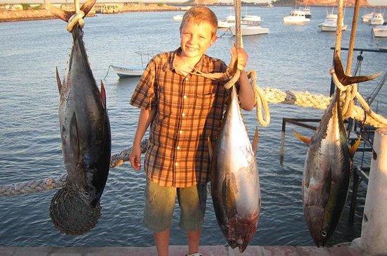 Pesca em alto mar - barco...