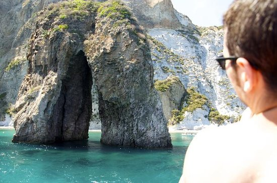 Ponza Island 5 hr Boat Excursion with Swimming Stops and Lunch