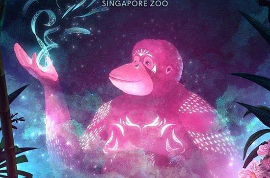 Rainforest Lumina at Singapore Zoo