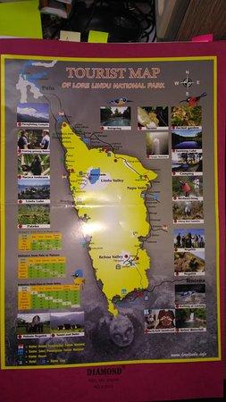 Poso, Indonesien: Rute Wisata di Taman Nasional Lore Lindu
