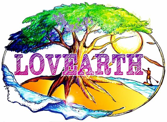 Gamagori, Japan: LOVEARTH Logo