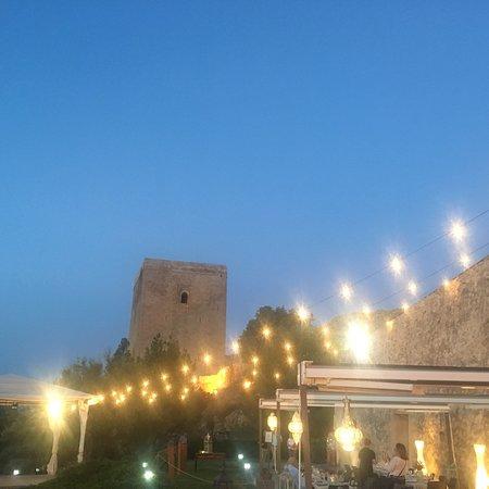 Cena en la terraza de las Caballerizas del Castillo de Lorca 2018