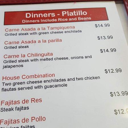 Lyons, IL: menu