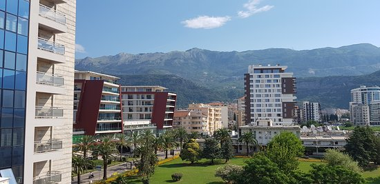 Hotel  OAZA : view from balcony