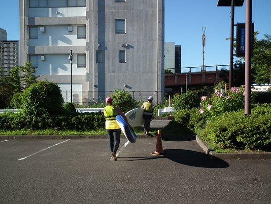 Outdoor Sports Club ZAC: 集合場所から移動