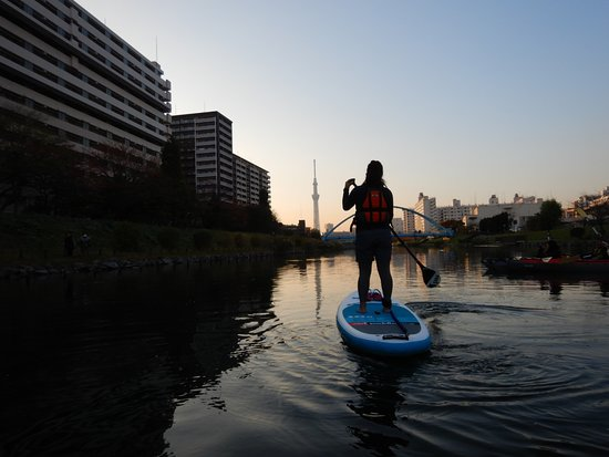 Outdoor Sports Club ZAC: 夕焼け(Sunset SUP)
