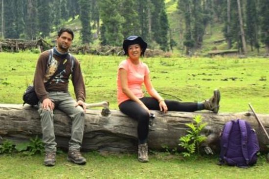 Wildfun Adventure Treks & Tours: while relaxing at base camp,kanimarg.