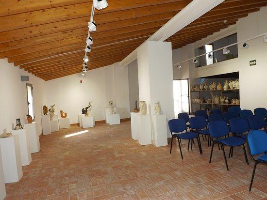 Agost, Spain: Sala de Exposiciones Temporales.