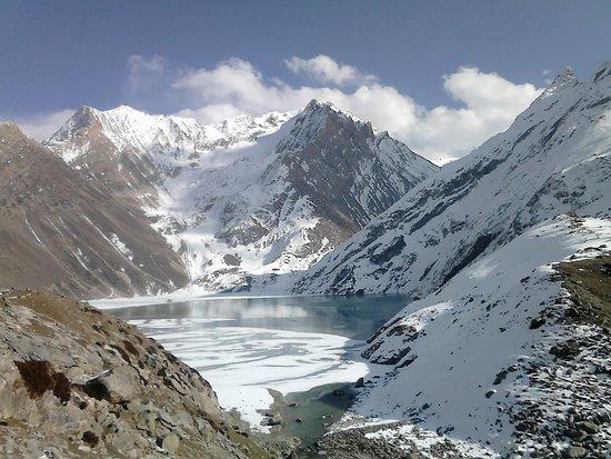 Wildfun Adventure Treks & Tours: Sheshnag lake in full glory.
