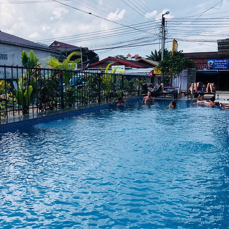 Real Vang Vieng Backpacker Hostel: Picture of hostel