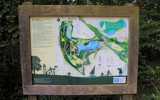 Southwater Country Park - Entrance