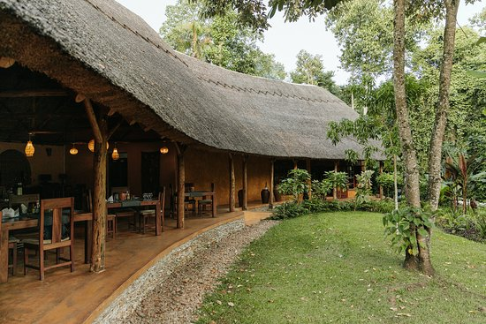 Kibale National Park, Uganda: Main Building -  Dining