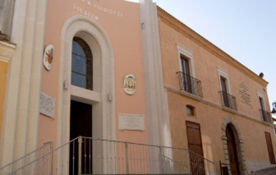 La cappella di San Pompilio sita in Montecalvo Irpino, sorge sulle macerie del palazzo  Pirrotti