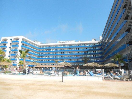 Tahití Playa Hotel: van af het strand genomen