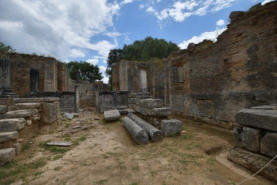 古奥林匹亚遗址照片