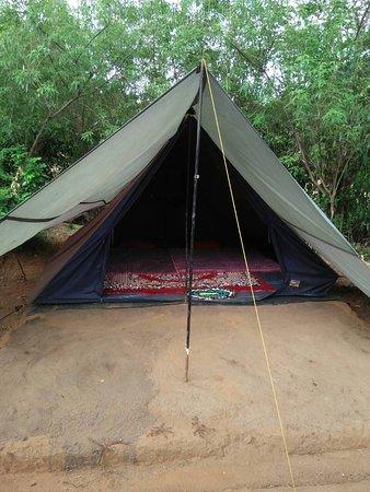 Meemure, Sri Lanka: Camping sites