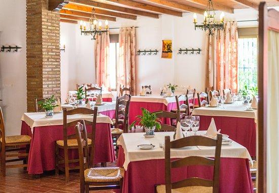 Cortijo de Tajar Hotel: Restaurante
