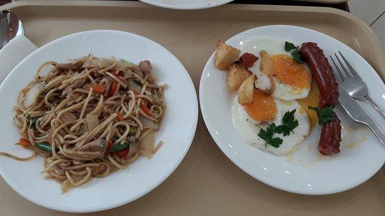 Stolovaya Na Nevskom: Noodles , Eggs , Sausage