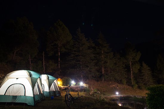Camping during a Mountain Cycling Race at Kosi Valley Retreat during December