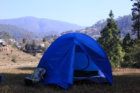 Kosi Valley Retreat: Camping in a valley setup opposite Kosi Valle Retreat