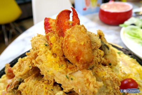 NeNe Chicken (Kwai Fong): 層層叠拼盤