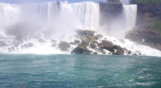 乘坐少女号的美国尼亚加拉瀑布之旅照片