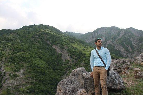 Ismailly, Aserbaidschan: Скалистые горы Лагича .