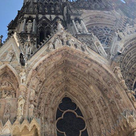 兰斯圣母大教堂照片