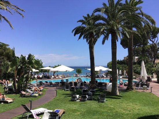 Hotel Son Caliu Spa Oasis: Pool mit Meerblick