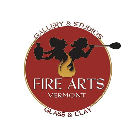 Brattleboro, VT: Fire Arts Vermont - Glass & Clay Gallery and Open Studios